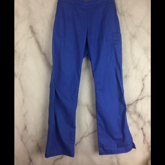 595bcd3c41a koi Pants | Kathy Peterson Periwinkle Blue Scrub | Poshmark